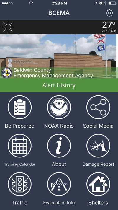 Emergency Management Agency App